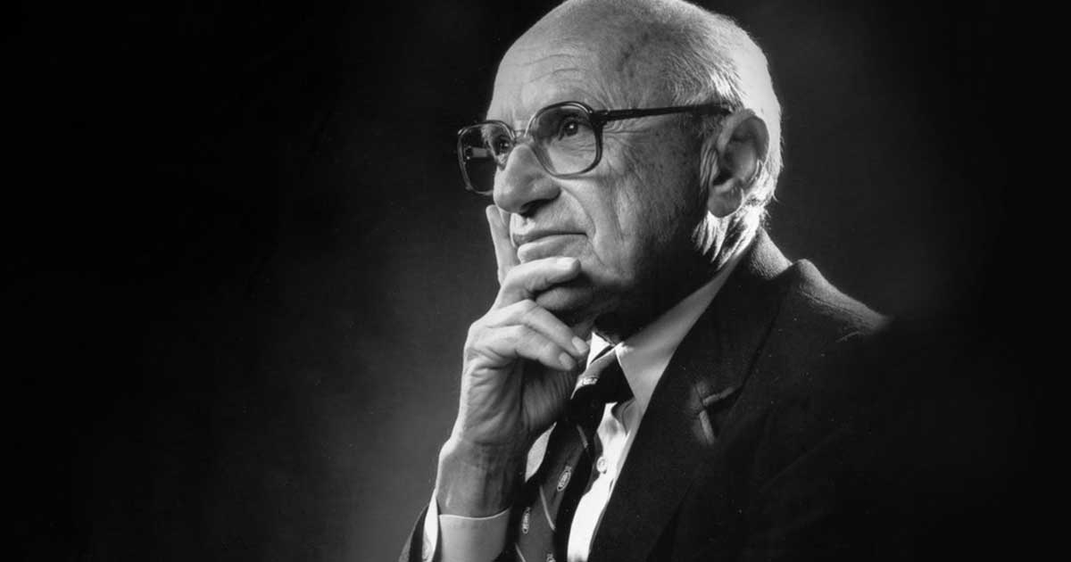 do you agree with milton friedmans 1970 Monetarism today is mainly associated with the work of milton friedman, who was among the generation of economists to accept keynesian economics and then criticise keynes's theory of fighting economic downturns using fiscal policy (government spending.